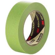 3M Masking Tape 401+, 6.7 Mil, 6mm x 55m, Green - Pkg Qty 96