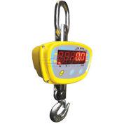Adam Equipment Digital Crane Scale 4400lb x 1lb W/ Hook, Remote Control, LHS4000