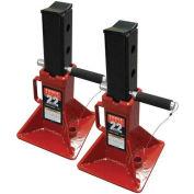 Sunex Tools 22 Ton Jack Stands, Pin-Type, Pair