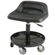 Swivel Tractor Seat, 8514, Large Tool Tray, Height Adjustable, Black