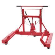 Sunex Tools 1500 lb. Hydraulic Wheel Dolly, Tilting Frame, Ball Bearing Casters