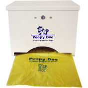 Poopy Doo Diaper Disposal Bag Dispenser, 400 Bag Capacity