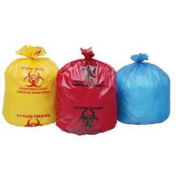 Stout Isolation Bags, 24 x 24, Red, 1.20 Mil, Flat Pack, 250/CS
