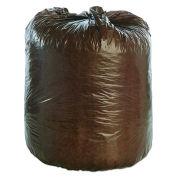 Stout Degradable Bags, 30 x 36, Brown, 0.80 Mil, Flat Pack, 60/CS