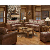 American Furniture Classics Deer Valley Sofa, Loveseat, Chair & Ottoman Set