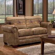 American Furniture Classics Wild Horses Loveseat