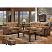 American Furniture Classics Wild Horses Sofa, Loveseat, Chair & Ottoman Set