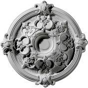 "Ekena CM17HA Hamilton Ceiling Medallion 17-3/8""OD x 3-3/4""ID x 1-3/4""D"