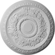 "Ekena CM17CA Cambridge Ceiling Medallion 17-5/8""OD x 2-7/8""ID x 1-1/8""D"