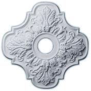 "Ekena CM17PE Peralta Ceiling Medallion 17-3/4""OD x 3-1/8""ID x 1""D"