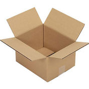 "Corrugated Boxes, 10"" x 8"" x 6"", Single Wall, 25 Pack"