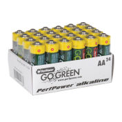GoGreen Power 24011 Alkaline Batteries AA - Pkg Qty 24