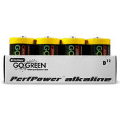D Alkaline Battery - Pkg Qty 12
