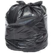 2X Heavy Duty Trash Bags, 55 Gallon, 1.7 Mil, 100/Case