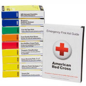 First Aid Only 740010 First Aid Kit Refill for 10 Unit First Aid Kits, ANSI Compliant