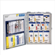 First Aid Only 1050-FAE-0103 Medium First Aid Kit, OSHA Compliant, Metal Case, 112 Pieces