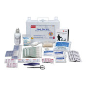 106 Piece First Aid Kit for 25 People, OSHA Compliant, Metal Case