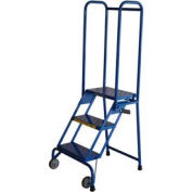 "Ballymore 3 Step 10"" Deep Step Lock-N-Stock Folding Aluminum Ladder"
