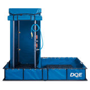 DQE Standard Decon Shower System - Aluminum Pool