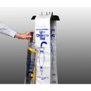 "Wet Umbrella Bags, 0.7 Mil, 35"" x 7"", 1000/Pk"