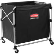 "Rubbermaid 1881750 8 Bushel Capacity X-Cart Collapsible Bulk Truck, 35-11/16""L x 24-1/8""W x 34""H"