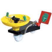Hughes Wall Mounted Emergency Eye/Facewash Fountain with Yellow Plastic Bowl STD-75G