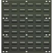"Louvered Panel, 18"" x 19"", Gray"