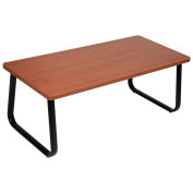 "Rectangle Coffee Table, Cherry Top, 43"" x 20"""