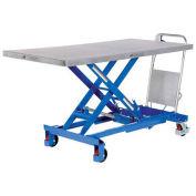 """Vestil CART-1000-LD 63 x 31 Hydraulic Elevating Cart, 1000 Lb. Cap."""""""