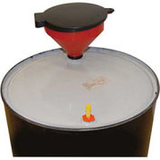 Drum Funnel with Lockable Cover