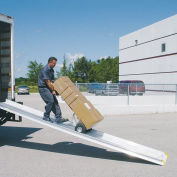 "Magliner SR2612 Retractable Underbody Truck Slider Ramp & Track, 26""W x 12'L"