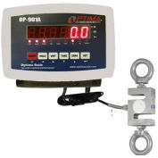 Optima LED Digital Hanging Scale 3,000lb x 0.5lb, OP-926-3000LED