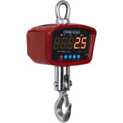 Optima LED Digital Crane Scale With Remote 1,000lb x 0.5lb, OP-924A-1000LED