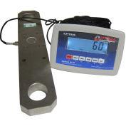 Optima Heavy Duty Tension LCD Digital Hanging Scale 50,000lb x 20lb, OP-927-50kLCD