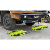 Optima Portable Heavy Duty Digital Weigh Axle Pads For Vehicles 50,000lb x 20lb, OP-928-1624LCD-2