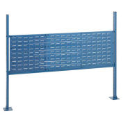 """18""""W and 36""""W Louver Mounting Kit for 60""""W Workbench - Blue"""