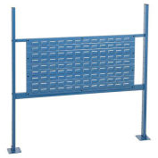 """36""""W Louver Mounting Kit for 48""""W Workbench -Blue"""