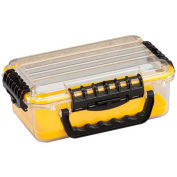 "Guide Series Airtight & Waterproof Storage Case, 11""L x 7-1/4""W x 4""H, Yellow"