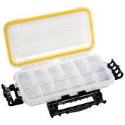 "Plano Guide Waterproof StowAway w/O-Ring Seal Box, 354010, 9-1/8""Lx 4-7/8""W x 1-1/2""H, Clear - Pkg Qty 2"