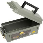 "Molding Water Resistant Ammo Storage Box, 13-3/4""L x 5-5/8""W x 5-9/16""H, Green"