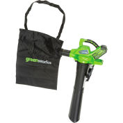 GreenWorks® G-MAX Cordless DigiPro Variable Speed Blower Vac, 40V, 4aH Battery & Charger, 24322