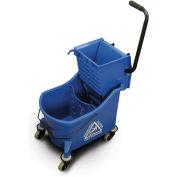 O-Cedar Commercial 6978, MaxiPlus Mop Bucket & Wringer, Blue 36 Qt.