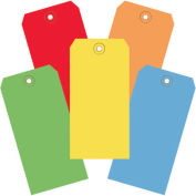 """4-3/4""""x2-3/8"""" Shipping Tags, Assorted Color, 1000 Pack"""
