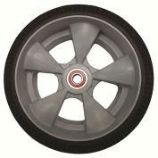 "Magliner 111080 10"" HDPE Hub with Microcellular Foam Tire"