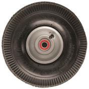 "Magliner 121055 10"" 2-Ply Tube Type Pneumatic Hand Truck Wheel, Steel Hub"