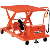 Portable Electric Scissor Lift, 24x36, 1000 Lb. Capacity