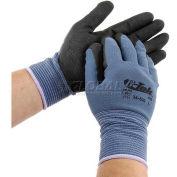 PIP G-Tek® Nitrile MicroSurface Nylon Grip Gloves, XS, 12 Pairs