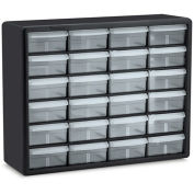 "AKRO-MILS Parts Storage Cabinet - 20x6.38x15.81"" - (24) 4-3/8x5-1/4x2"" Drawers"