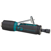 """Dynabrade 0.4HP Straight-Line Die Grinder, 35,000 RPM, Gearless, Rear Exhaust, 1/4""""/6MM Collets"""
