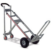 "Magliner TPAUAC 3-in-1 Aluminum Hand Truck with 10"" Microcellular Wheels"